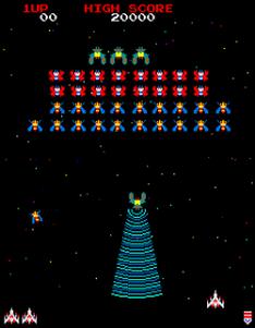 Galaga: an Arcade machine emulator for Windows and HTML5 – a